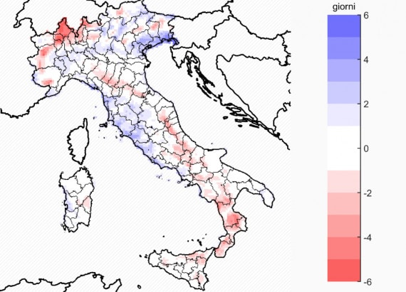 Italia Climatica Cartina.Cambiamenti Climatici Quale Futuro Per L Italia Focus It