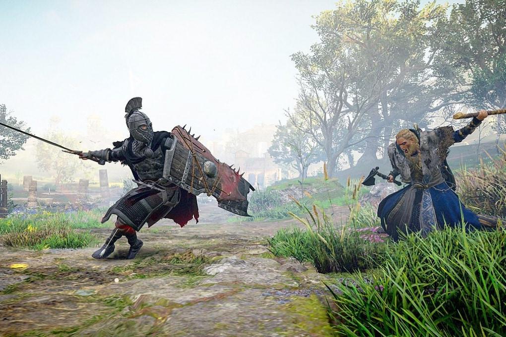 Un'immagine da Assassin's Creed Valhalla (2020).