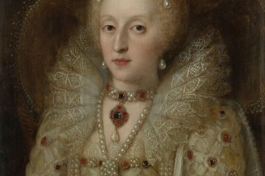 Ritratto di Elisabetta I, Regina d'Inghilterra (Anonimo, c. 1550-99).