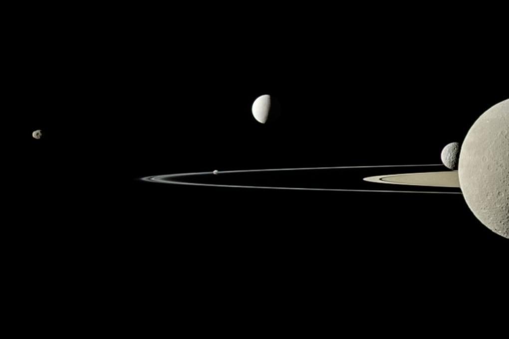 Lune di Saturno