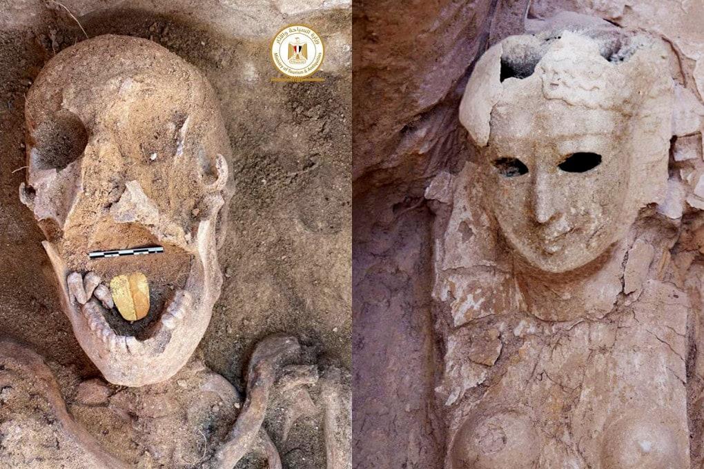 Mummia lingua d'oro