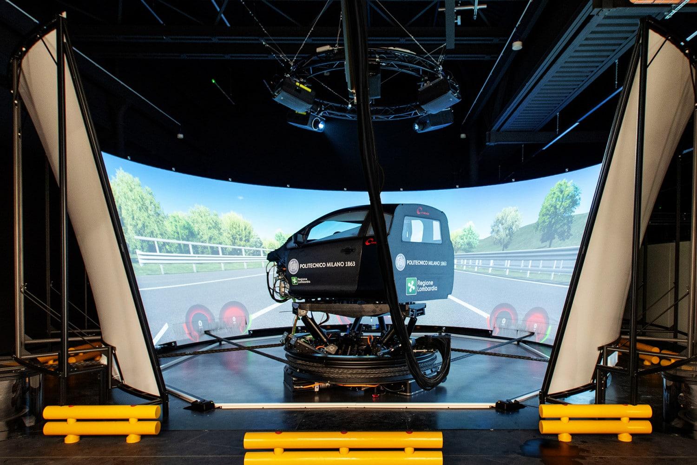 A Milano il simulatore di guida più realistico