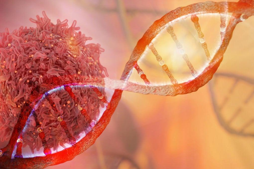 Filo di DNA e Cancro Cell
