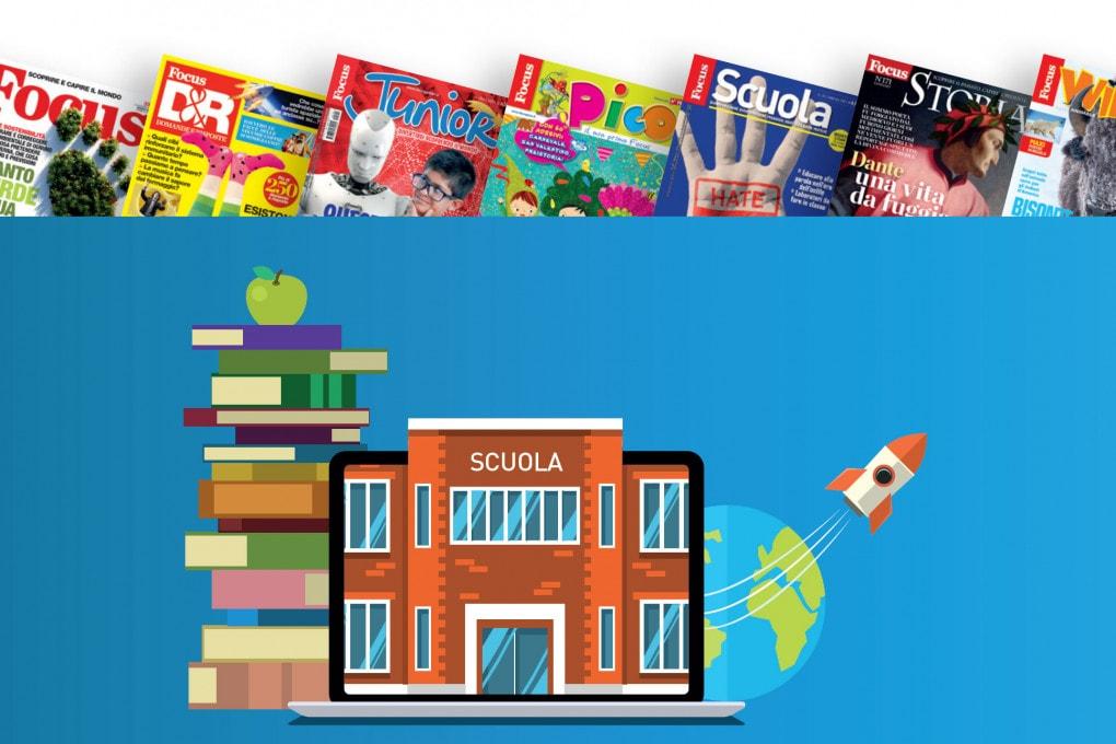 Gli abbonamenti alle riviste costano meno per le scuole