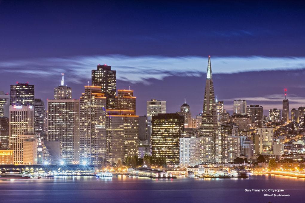 Il terreno sotto a San Francisco sprofonda sotto il peso di miliardi di kg di vetro, cemento, acciaio, persone, cose...