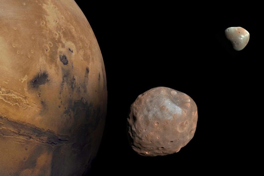 Marte, Phobos, Deimos
