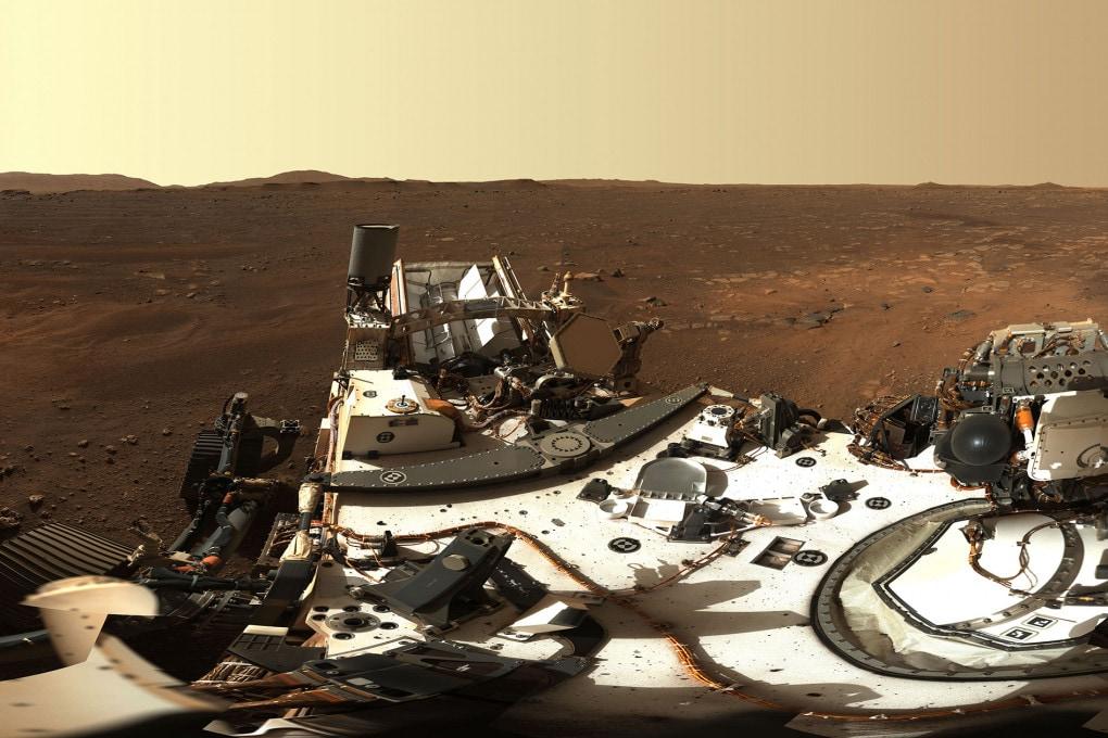 Perseverance su Marte: la prima panoramica del cratere Jezero