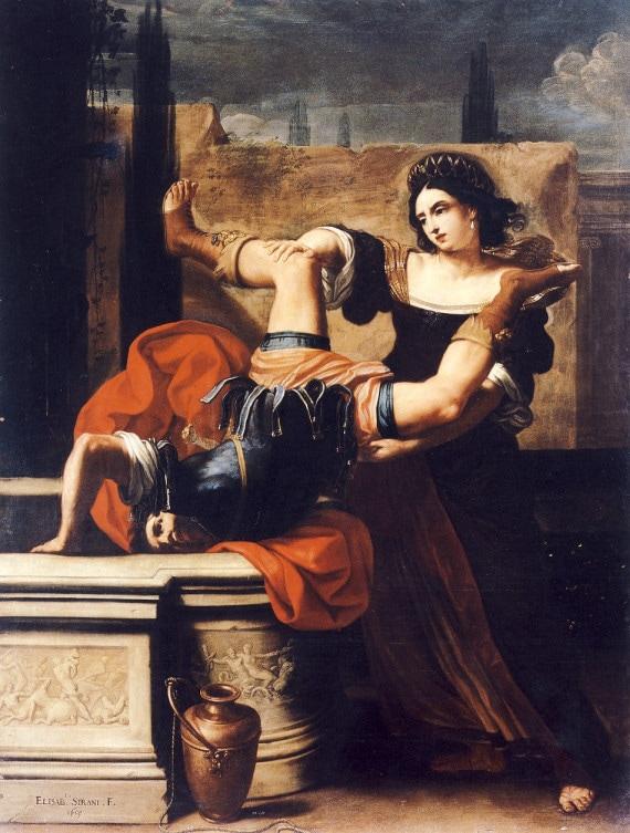 ELISABETTA SIRANI, TIMOCLEA UCCIDE IL CAPITANO DI ALESSANDRO MAGNO