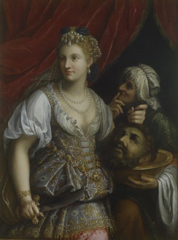FEDE GALIZIA, GIUDITTA CON LA TESTA DI OLOFERNE (1601)