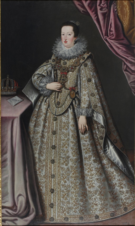 GIUSTINA FETTI (SUOR LUCRINA). RITRATTO DI ELEONORA GONZAGA I (1622)
