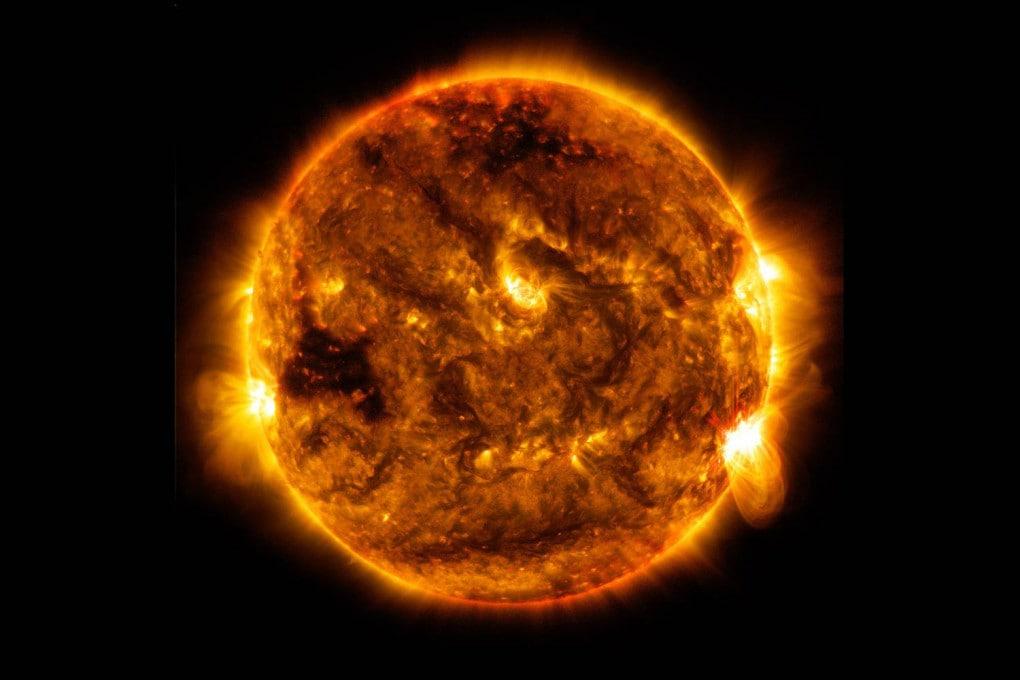 Il Sole, fotografato il 1° ottobre 2015 dal Solar Dynamics Observatory (NASA).