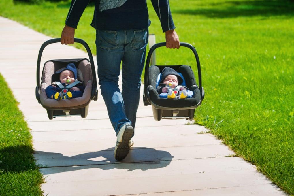 Avere gemelli è un'eventualità sempre meno rara (per ora).