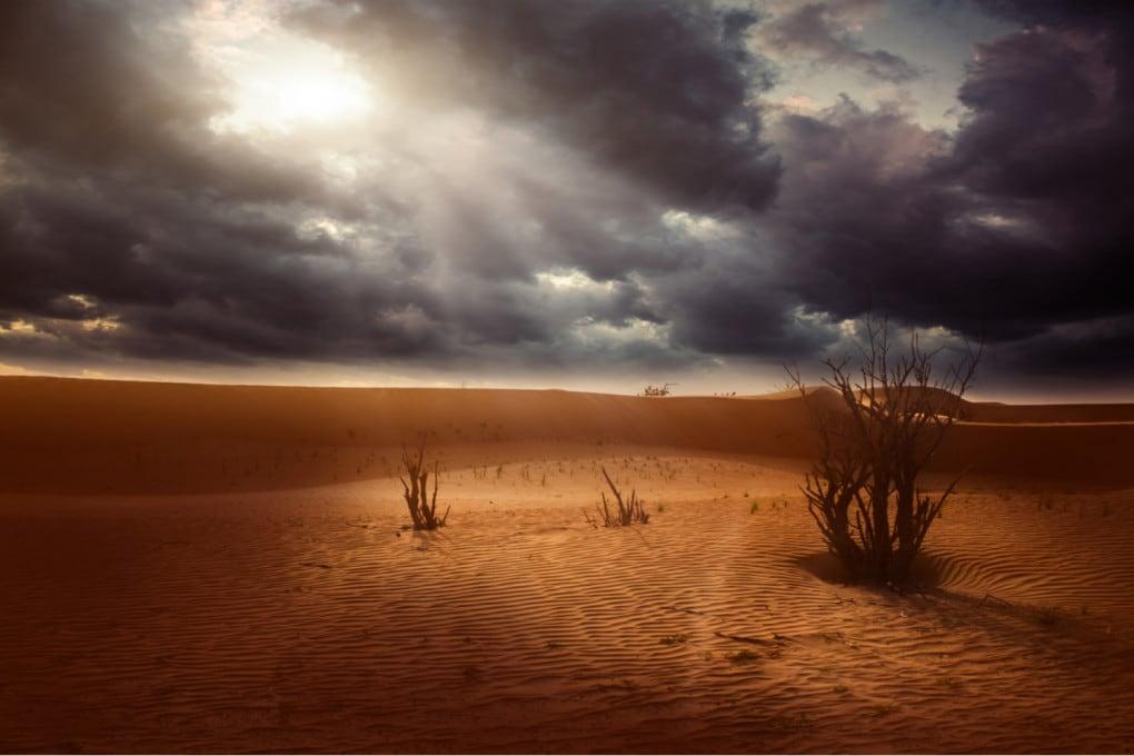deserto e siccità