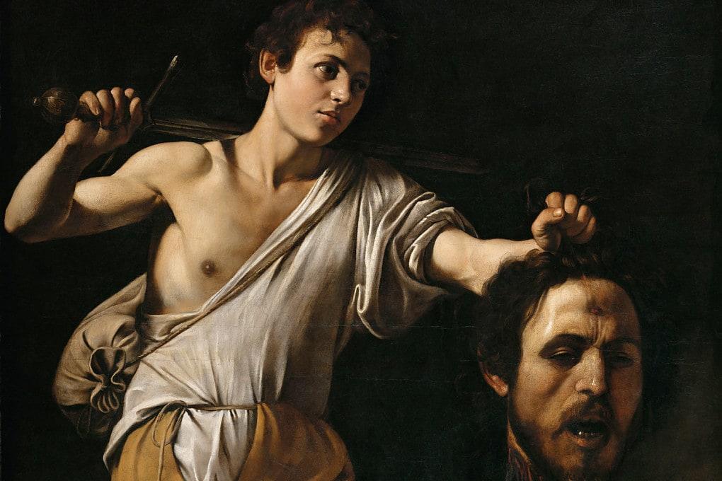 Caravaggio: Davide con la testa di Golia