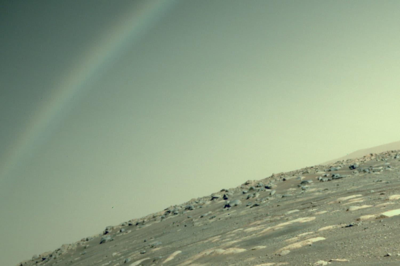 Arcobaleno su Marte
