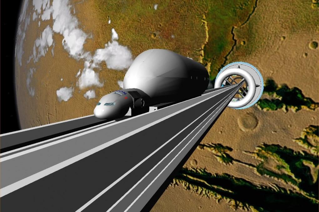 L'ascensore spaziale potrebbe essere un sistema efficiente ed economico per esplorare altri pianeti, ma, soprattutto, è un'idea bizzarra, affascinante e forse impossibile.