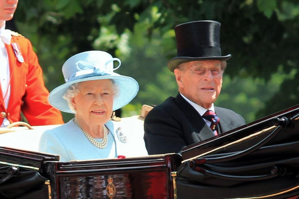 Regina Elisabetta e il principe Filippo nel 2020