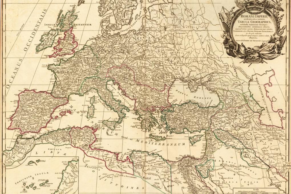 Europa: cartografia d'epoca romana