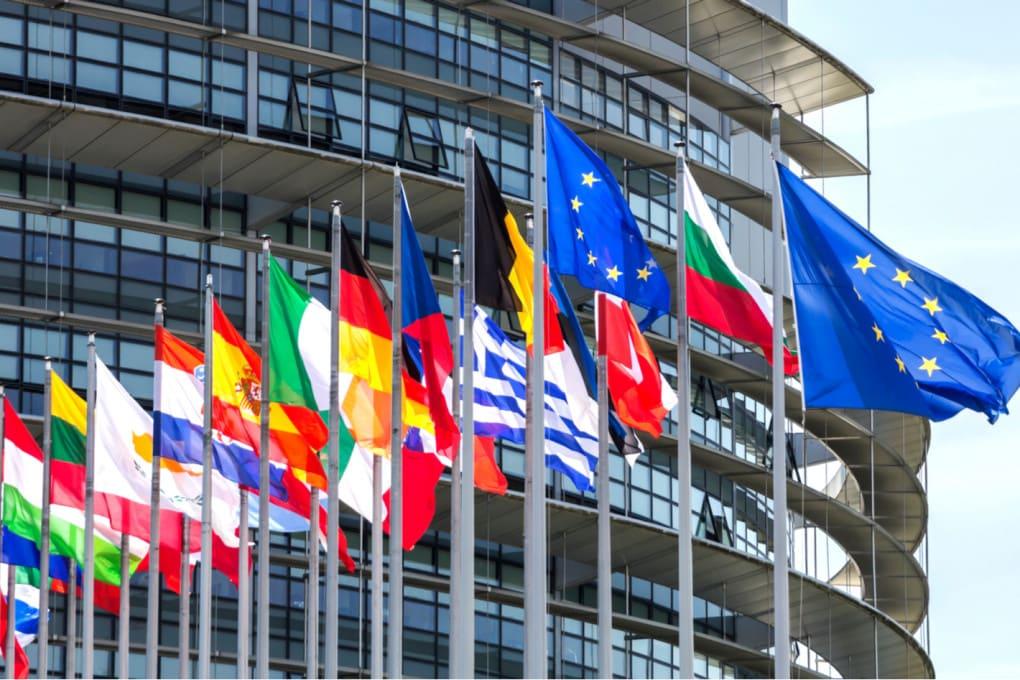 Strasburgo , Francia: la sede del Parlamento Europeo