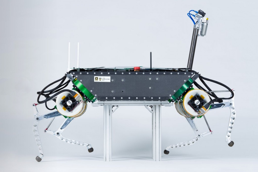 LLAMA potrebbe essere il primo robot equipaggiato con muscoli bioibridi, cioè biologici ed elettronici.
