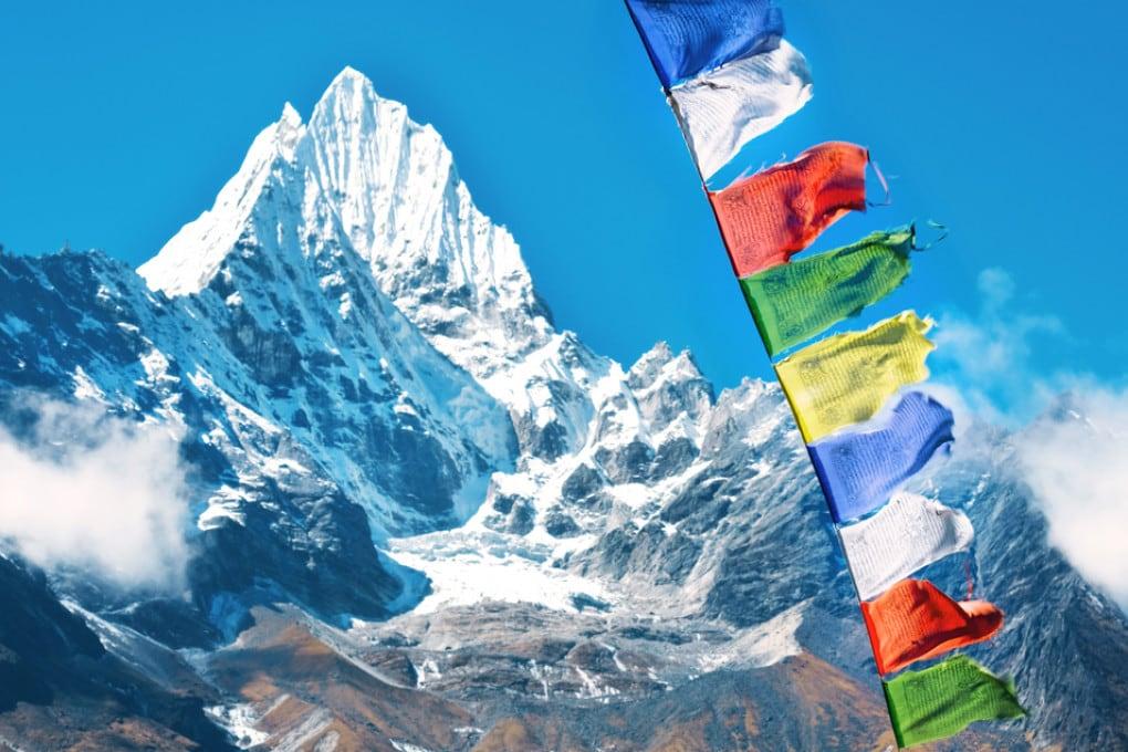la cima dell'Everest