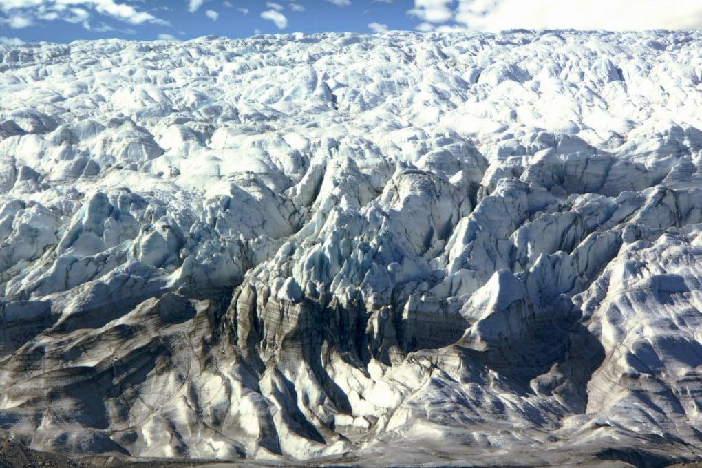 L'Isunnguata Sermia, uno dei ghiacciai della Groenlandia che trasporta mercurio nell'oceano.