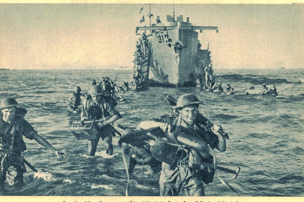 Sbarco in Sicilia - truppe alleate