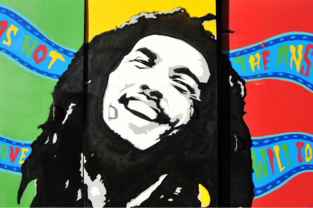 Bob Marley, un murale