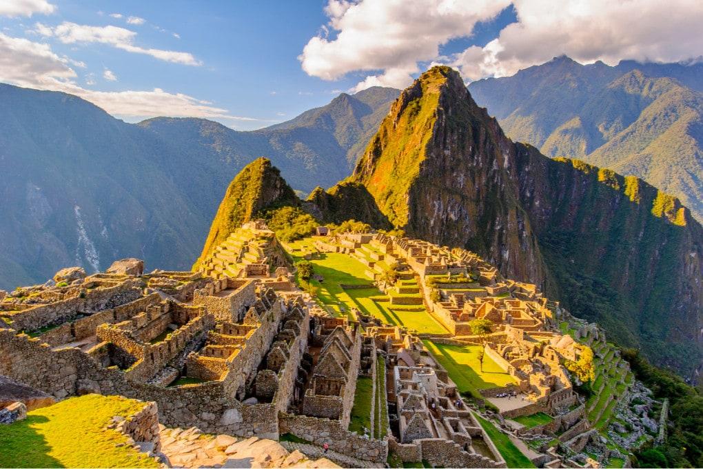 Machu Picchu (Perù, Sud America), Patrimonio mondiale dell'Unesco.