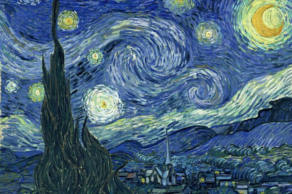 Vincent van Gogh, Notte stellata (Saint-Rémy, giugno 1889).