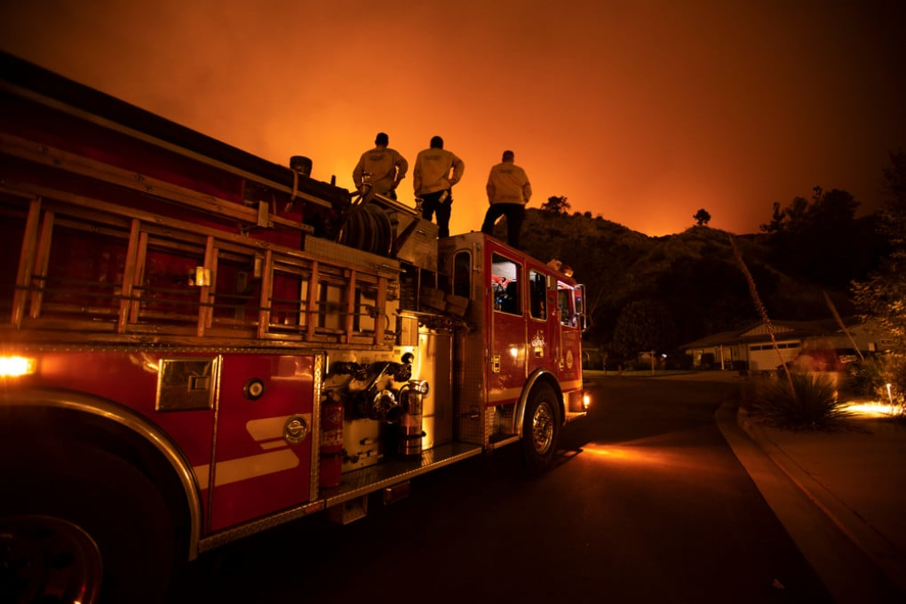 Incendio a Los Angeles
