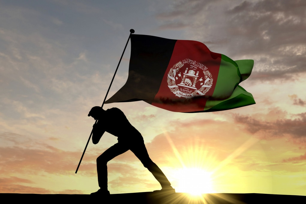 Massoud - Bandiera afghana