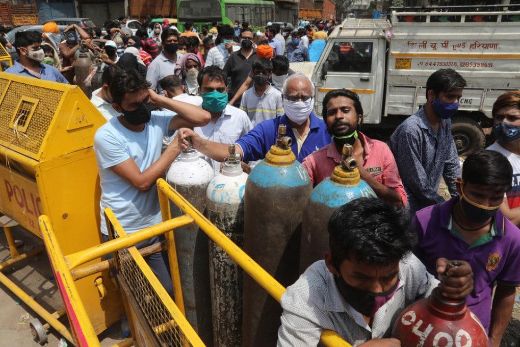 Ricarica bombole ossigeno in India