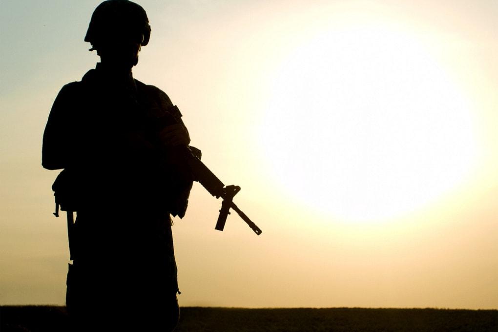 Un soldato americano in Afghanistan: gli Stati Uniti hanno lasciato il Paese il 31 agosto 2021 dopo una lunga guerra.
