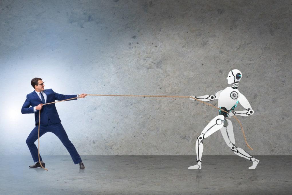 lavoro: uomo vs robot