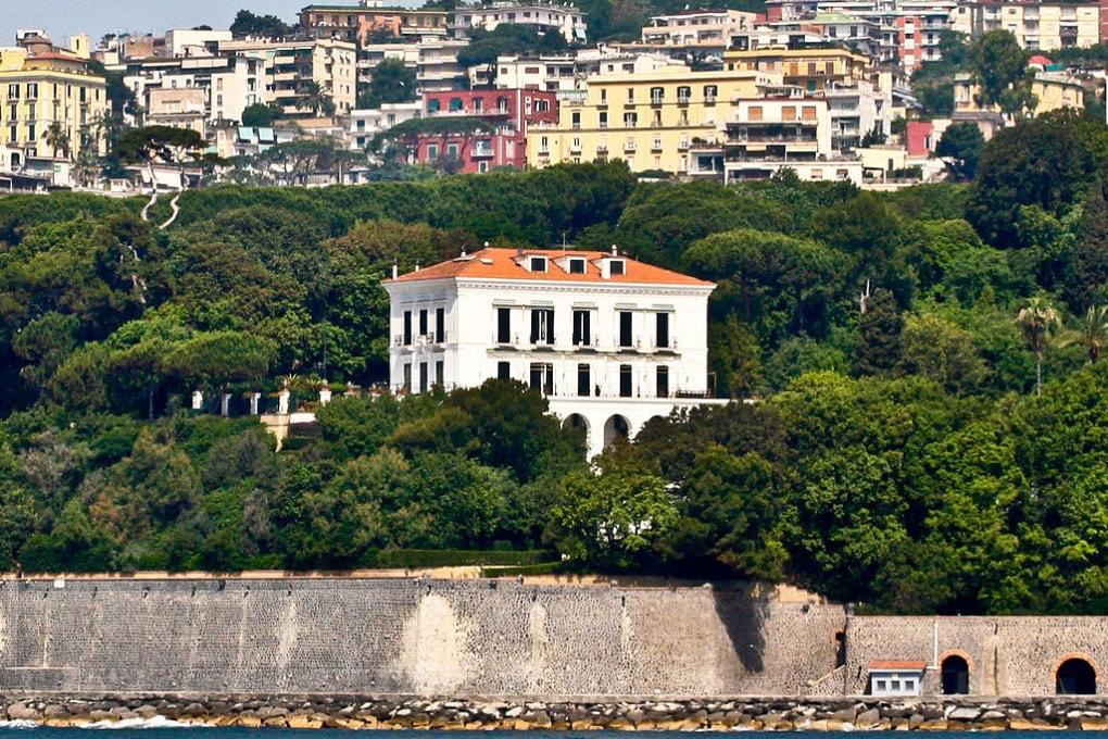 Villa Rosebery, nel golfo di Posillipo, Napoli.