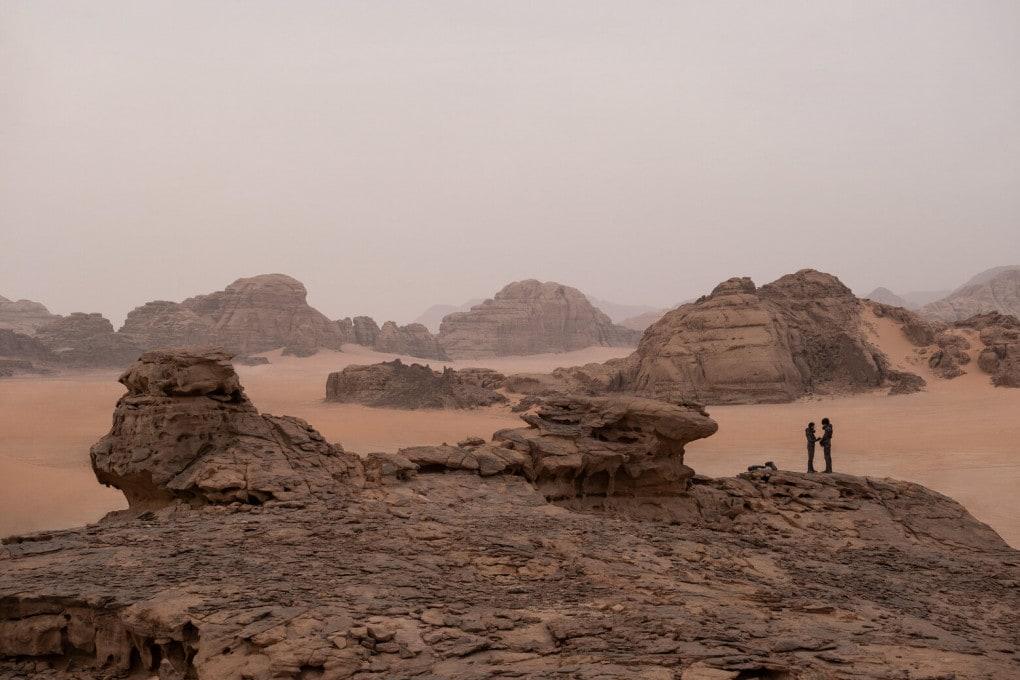 Una scena di Dune