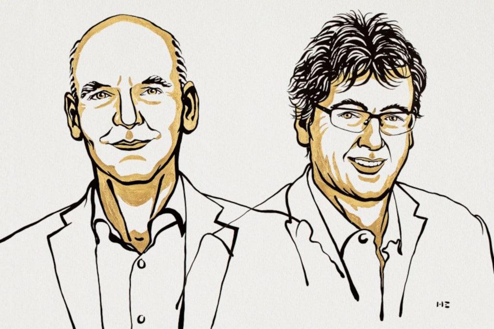 Nobel 2021 per la chimica: Benjamin List (a sinistra) e David W.C. MacMillan.