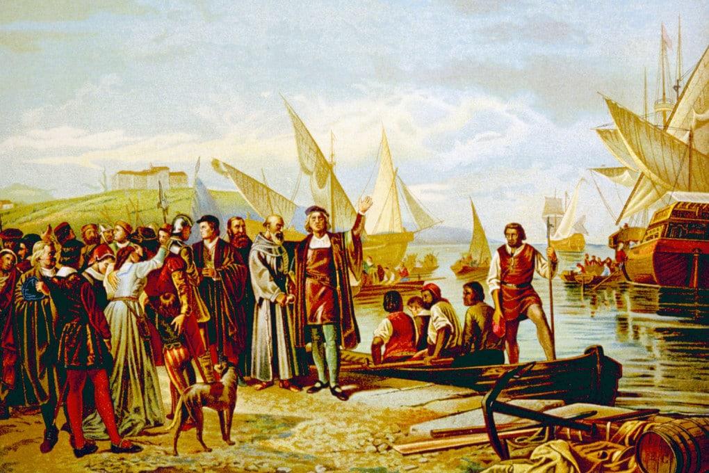 Cristoforo Colombo - Partenza