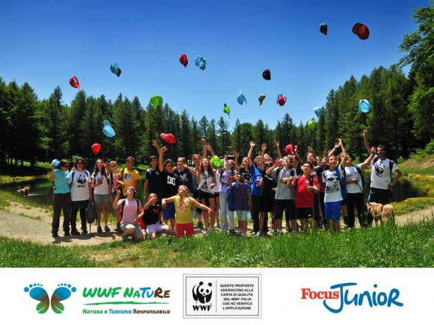 Campus estivi WWF e FocusJunior