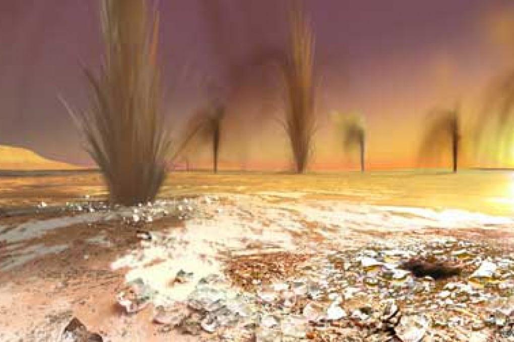 Scoperti i geyser su Marte