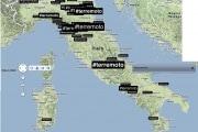 Il terremoto corre su Twitter