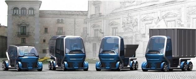 Auto trasformer e bici per due
