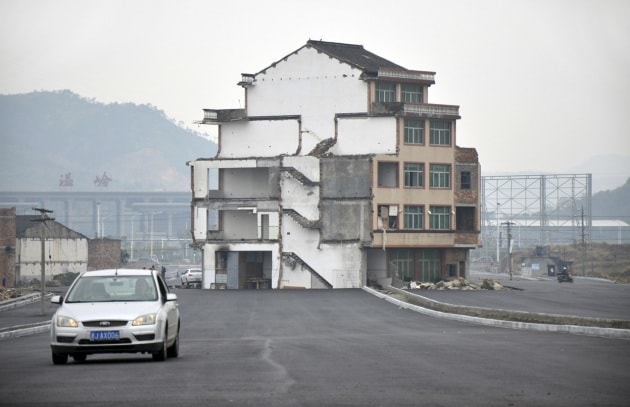 Le Nail Houses in Cina