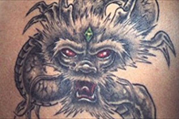 Il tatuaggio rende meno sensibili al tatto