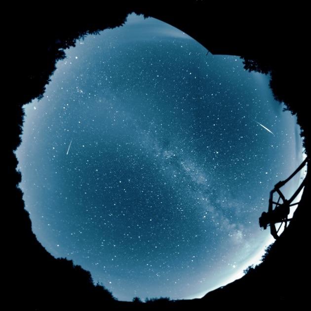 Le stelle cadenti dell'8 ottobre