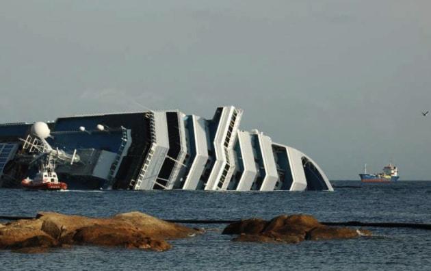 Costa Concordia: come verranno svuotati i serbatoi del carburante