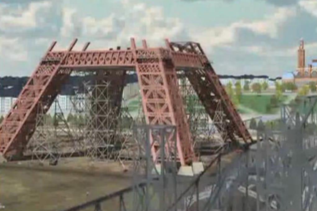Viaggio nel tempo: guarda la nascita della Tour Eiffel ricostruita in 3D