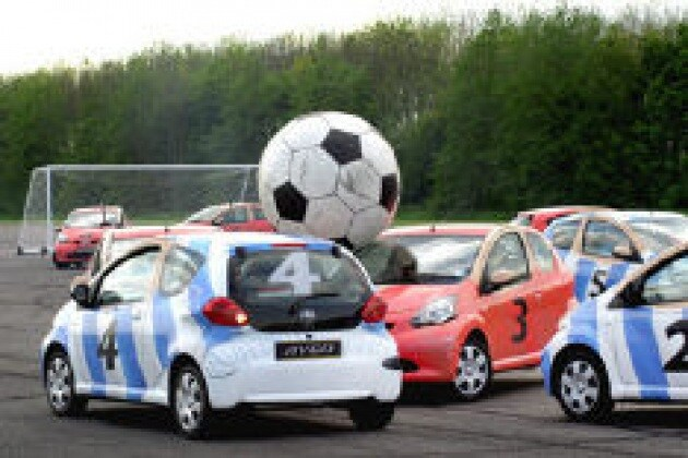 Car soccer: lo sport per veri pigri