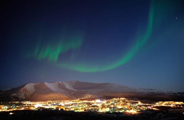 Dopo la tempesta, lo spettacolo delle aurore boreali